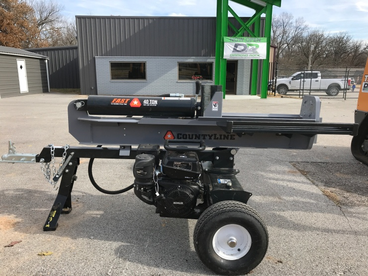 40 Ton Log Splitter